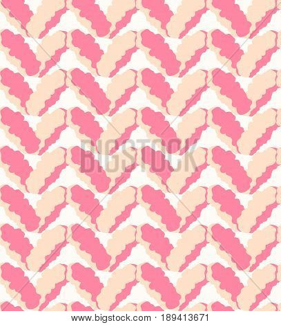 Seamless Pink Marl Downy Pattern, Knitting Texture