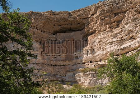 This cliff dwelling ramins 600 years after the Sinagua people left