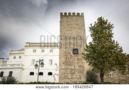 the Castle in Alter do Chao town, District of Portalegre, Portugal