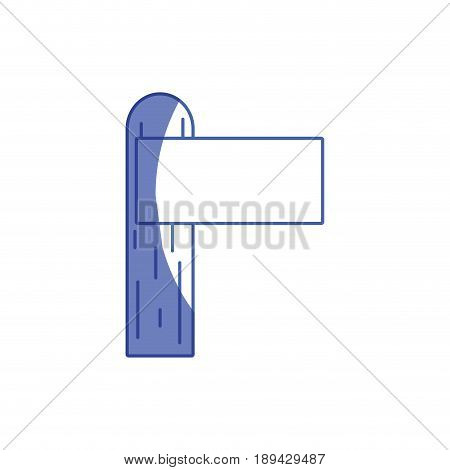 silhouette wood surfboard to recreation sport in the waves vector illustration