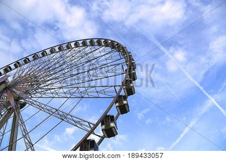 The Big Wheel (Roue de Paris) at Place de la Concorde Paris France