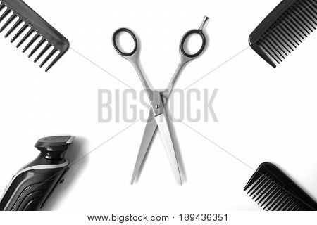 Haircut Items, Scissors In Middle