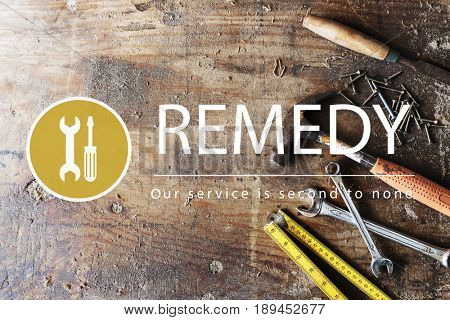 Maintenance Repair Remedy Service Restoration Concept