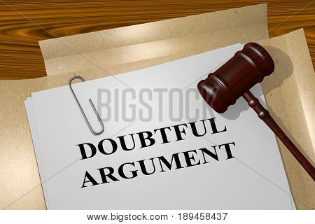 Doubtful Argument Concept
