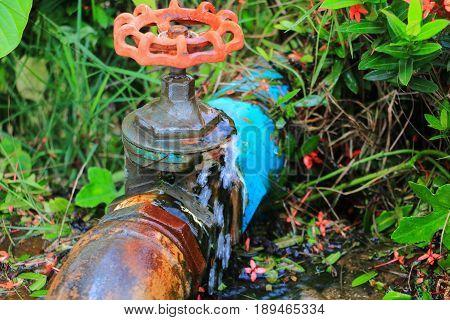 plumbing tube leak at wait repair plumber with motion water