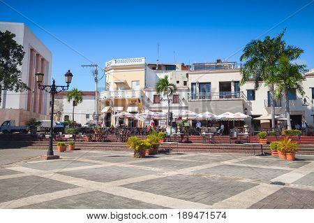 Plaza De Espana. Santo Domingo