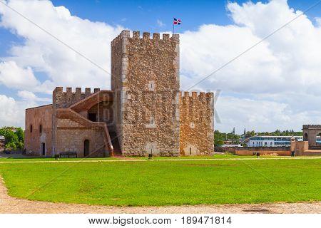 The Fortaleza Ozama Exterior