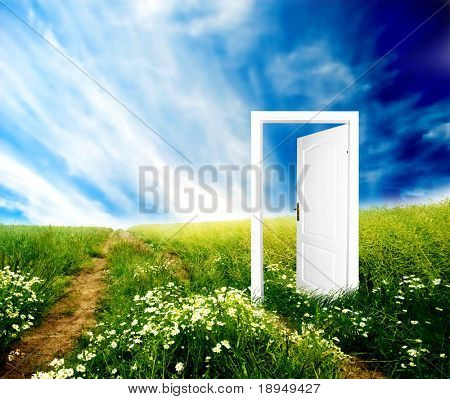 Door to new world. Colourful, bright, great quality.