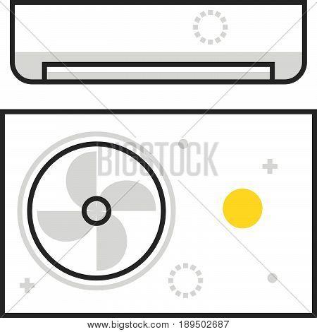 Color Box Air Conditioning  Icon