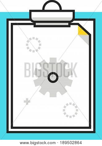 Color Box Paper Binder Icon