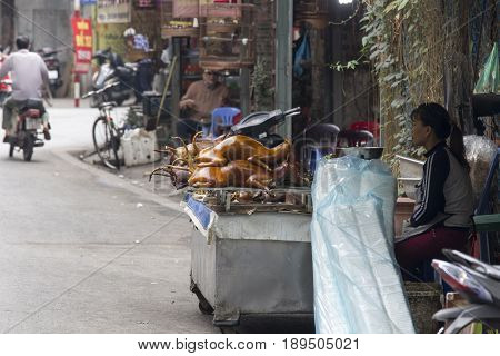 Selling And Buying Dog Meat In Vietnam