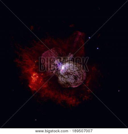 Homunculus Nebula Is A Bipolar Emission And Reflection Nebula.