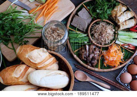 Vietnamese Food, Banh Mi Thit