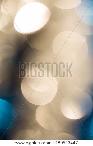 Beautiful festive bokeh as background . A photo