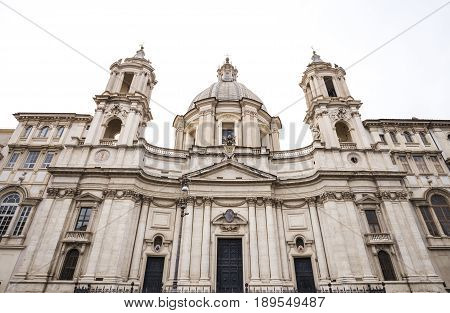 Church of Sant Agnese in Agone in Italy