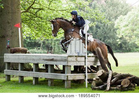 Houghton International Horse Trials Courtney Romcke Riding Destino Bello