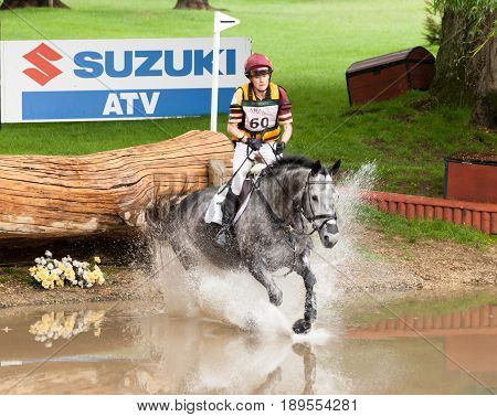 Houghton International Horse Trials Annie Bellamy Riding Grafik Iii