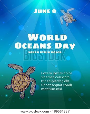 World Oceans Day, June 8