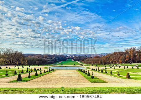 Parc of Sceaux is a large beautiful park, designed by Andre Le Notre, in Sceaux, in the southern suburbs of Paris, France.