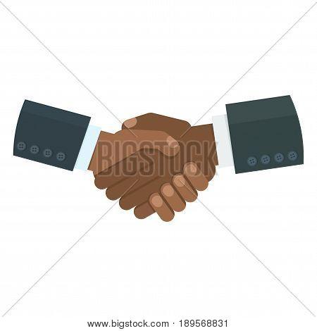 Black Handshake Image