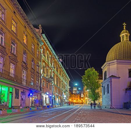 The Night In Old Lvov