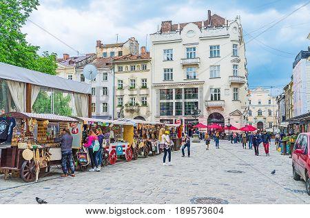 Walk In Old Lvov