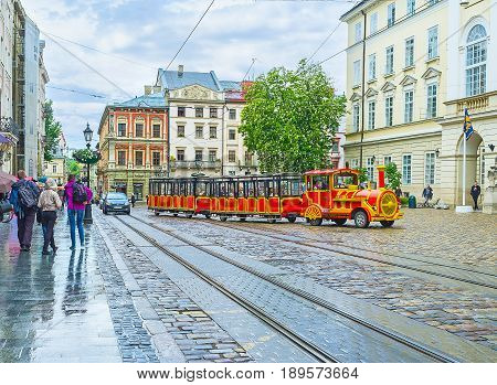 The View With Tourist Tram