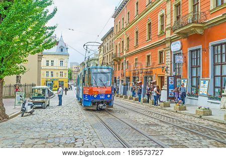 The Trams In Lvov