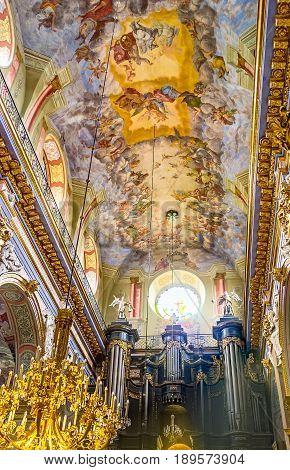 The Benedictine Church In Lvov