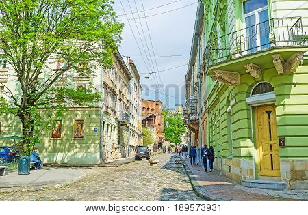 The Quiet Street Of Lvov