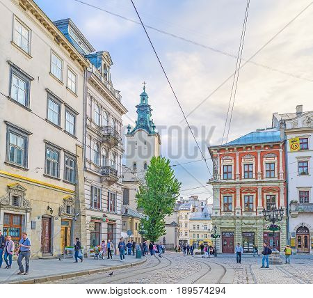 Old Town Of Lvov