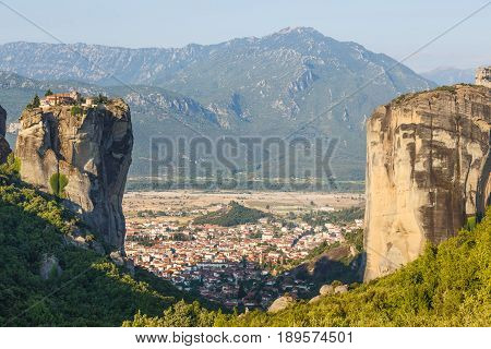 Monastery Holy Trinity in Meteora, Kalambaka Greece
