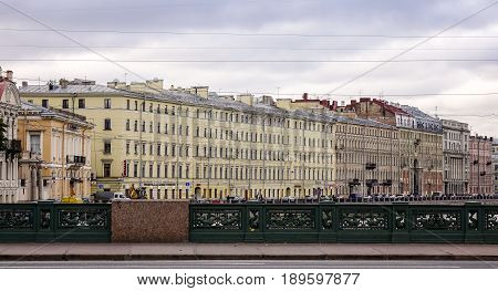 Old Buildings Located In St. Petersburg, Russia