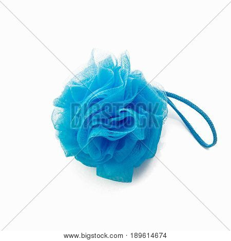 Scrub sponge on white background. Scrub sponge isolated.