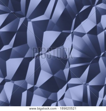 3d abstract futuristic surreal curvy creased geometric polygonal surface texture