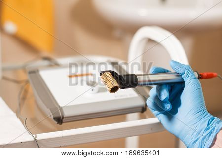 Close up Apparatus of cosmetology aesthetic cosmetology