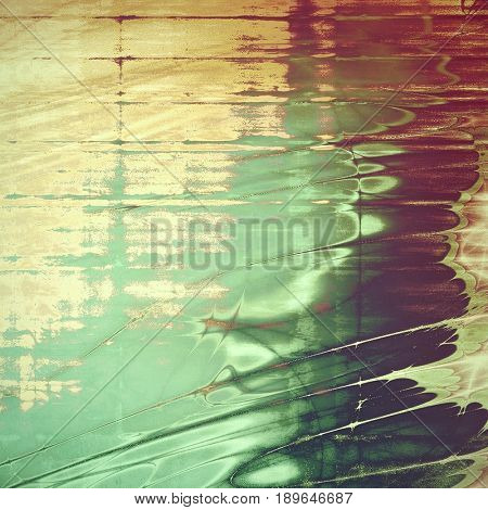 Retro background with grunge texture. With different color patterns: cyan; yellow (beige); brown; green; purple (violet); pink