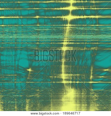 Art grunge background, vintage style textured frame. With different color patterns: blue; cyan; yellow (beige); green; gray