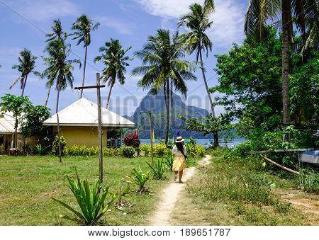 Rural Scenery In Palawan Island, Philippines