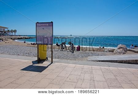 Molinar Beach And Bicycles