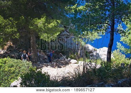 Sea View Tramuntana Mountains Mallorca