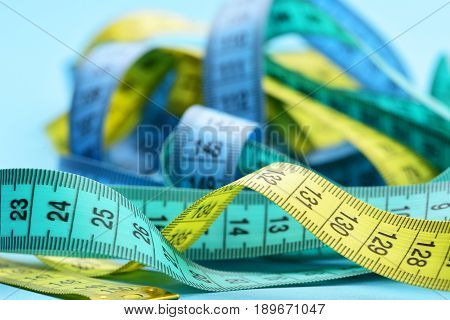 Tape Measures Mess