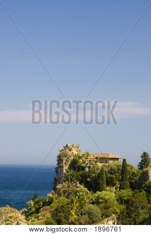 Mansion Overlooking Sea