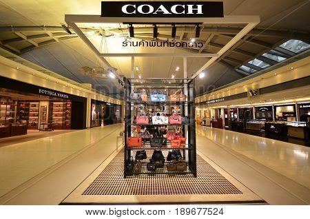 Coach Boutiqie At Suvarnabhumi Airport