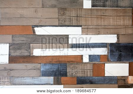 Vintage colorful closeup wooden background textured nobody