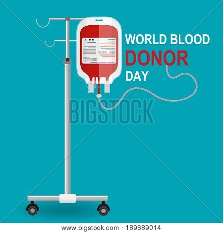 Give blood today. Save life. Medical and healthcare concept.