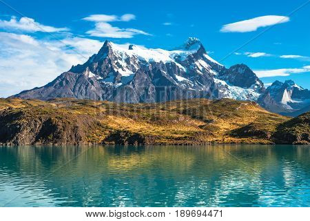 Peaks Of Torres Del Paine, National Park, Patagonia