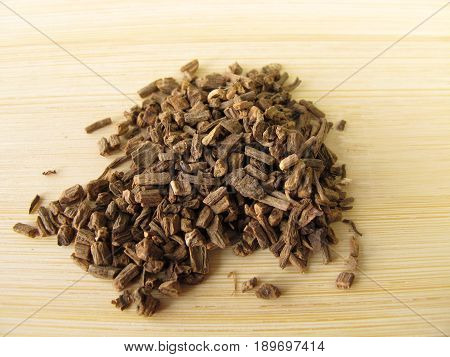Valerian root, Valerianae radix, for herbal medicine