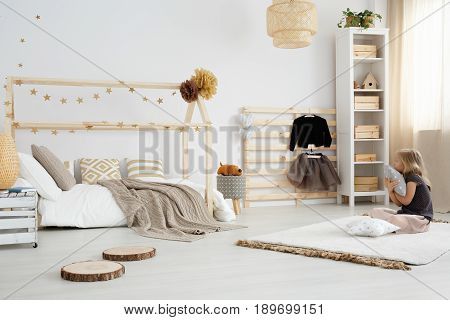 Child Room With Eco-friendly Textiles