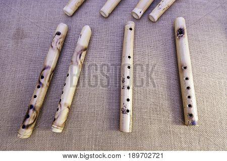 Handmade Wooden Flutes